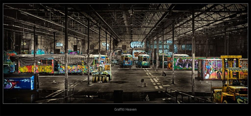 Glebe Tram Sheds Photography Location Guide